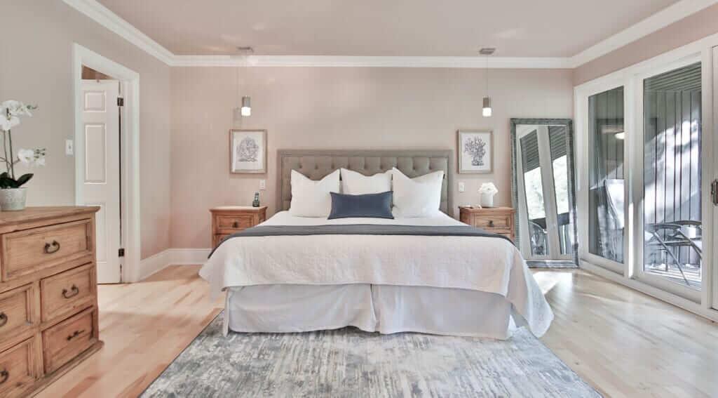 ห้องนอน การออกแบบห้องนอน ออกแบบห้องนอนผู้สูงอายุชั้นล่าง