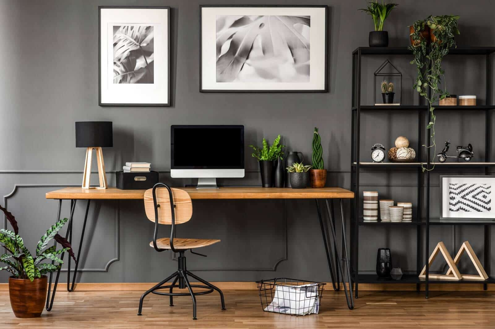 home office_small office_a modern-styled office interior