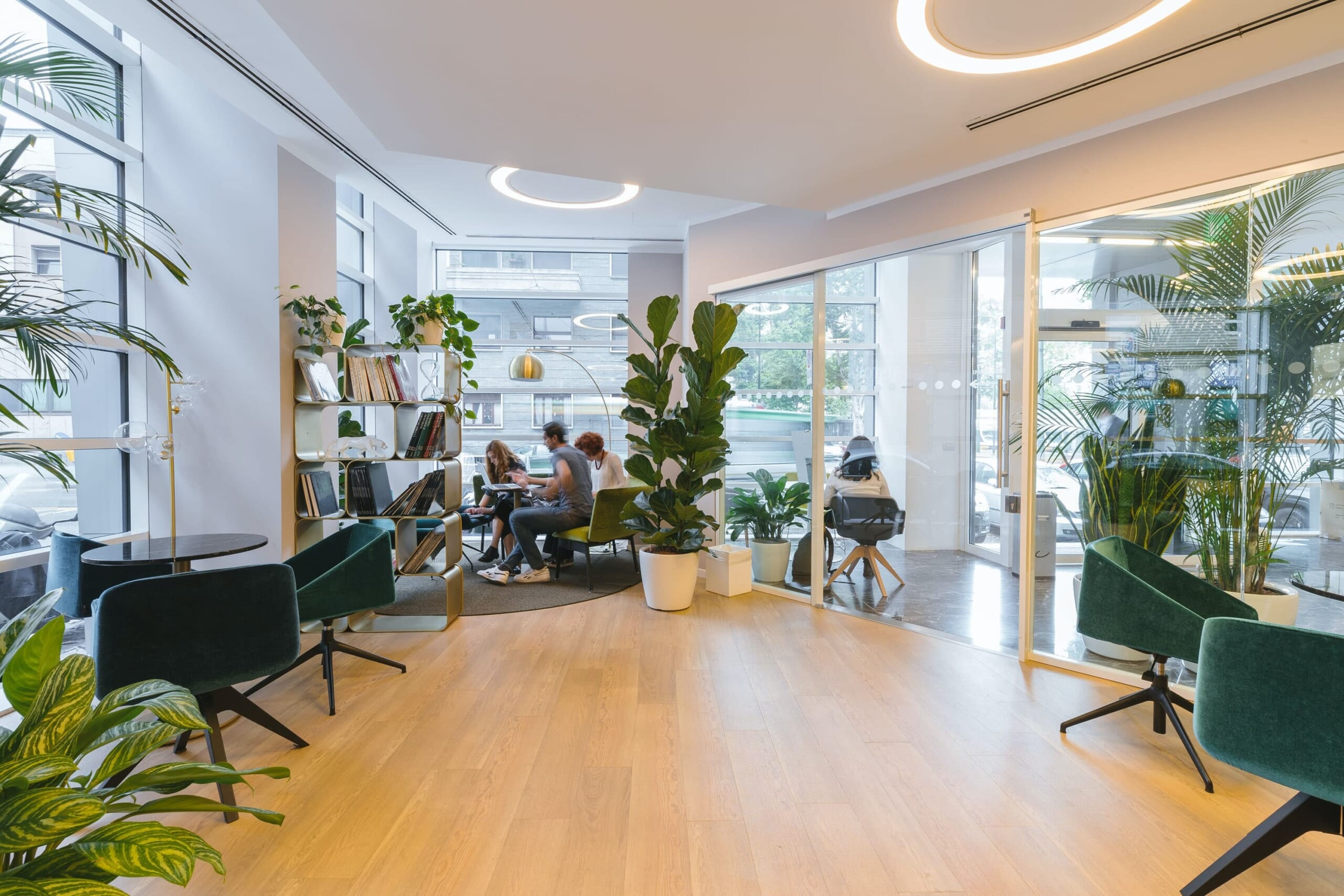 Commercial Interior Design ออกแบบภายในพื้นที่เชิงพานิชย์